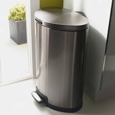poubelle inox cuisine poubelle cuisine pedale 30 litres maison design bahbe com