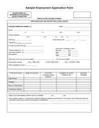 Slp Resume Examples Sample Job Application Sample Job Application Slp Stuff