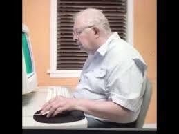 Man On Computer Meme - old man deletes computer youtube