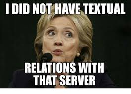 Server Memes - i did not have textual relations with that server meme on