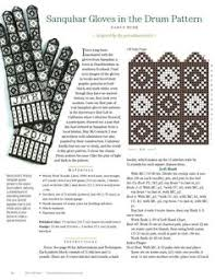 drum knitting pattern compass rose knitting pattern yahoo image search results варежки