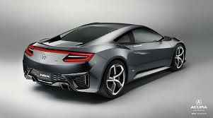 Acura Nsx Power 2017 Acura Nsx Type R Release Date And Specifications