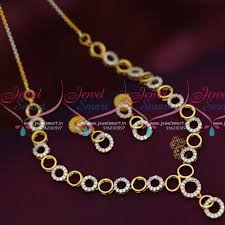 silver jewellery necklace sets images Nl8079 fancy gold silver plated small kids girls imitation JPG