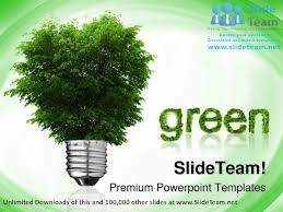 go green environment powerpoint templates themes and backgrounds