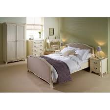 lpd chantilly bed frame in antique white double furniture123