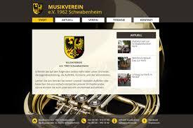 web design lernen musikverein schwabenheim webdesign start herr zahm