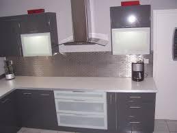 deco cuisine et grise photo cuisine grise et bois 2 decoration cuisine deco