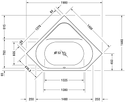 Standard Measurement Of House Plan Luxurious Bathroom Tub Measurements 66 Just With House Plan With
