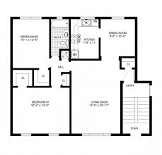 House Design Plans With Measurements Gorgeous Simple House Floor Plans With Measurements Ukrobstep