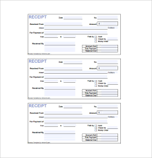 printable cash receipt book receipt form down payment receipt form payment receipt form