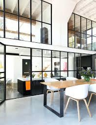 bureau style atelier bureau loft industriel verriare style atelier dans un loft racnovac