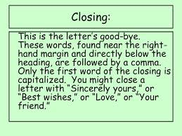 writing portfolios friendly business letters friendly letters