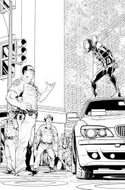 ultimate spider man 9 preview 2 by davidmarquez on deviantart