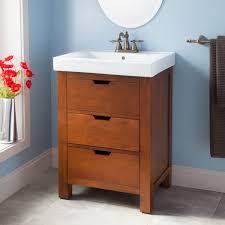 24 Bathroom Vanity With Drawers 24 Morey Vanity Cabinet Oak Powder Room Pinterest
