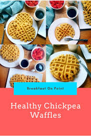 healthy chickpea waffles recipe waffle recipes waffles and