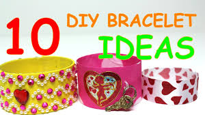 10 diy valentines day bracelets ideas for kids recycling art by