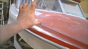 2 boat restoration 1973 fiberform fiberglass repair part 2 of 7
