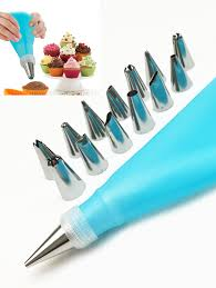 How To Decorate Stainless Steel Squeeze Cream Tool Cake Decorating Stainless Steel Pastry Piping