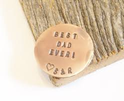 gift for dad father u0027s day golf gift for dad personalized ball marker best dad