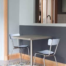 bistro u2013 square dining table lyon béton