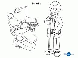 dental health coloring pages kids coloring