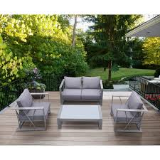 outdoor ls for patio st bars 4 piece outdoor patio aluminum set