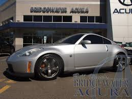 nismo nissan 350z pre owned 2008 nissan 350z nismo coupe in bridgewater p8115as