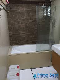 Bathroom Waterproofing Common Bathroom Waterproofing Singapore Hdb Woodlands Drive 14