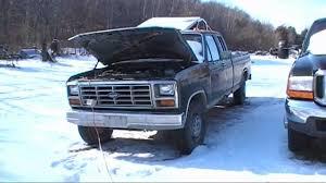 1984 ford f250 diesel mpg ford f250 6 9l idi diesel cold start 86 1986