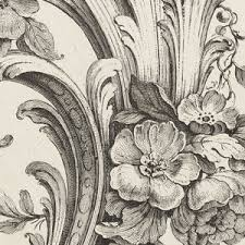 print floral and acanthus leaf design 1740 images objects