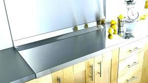 plaque inox pour cuisine plaque inox autocollante ides table cuisine cool pot a cuisine is