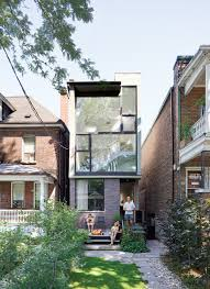 Small Narrow House Plans Five Innovative Infill Homes Dwell Exteriors Pinterest