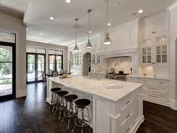 kitchen best open concept kitchen with island used solid wood