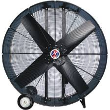 large floor fan industrial q standard industrial direct drive drum fan 48in model 10948