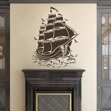 aliexpress com buy pirate ship decal pirate nursery wall decal aliexpress com buy pirate ship decal pirate nursery wall decal for baby kids or children s room bathroom 30