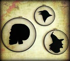spirit halloween savannah ga diy spooky silhouettes halloween decor