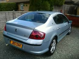 peugeot auto diesel peugeot 407 auto diesel saloon with private reg in ware
