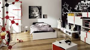 bedroom ideas awesome cool bedside desk pink bedding amazing