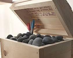 wishing rocks for wedding 100 wishing stones guest book with treasure box stones wedding