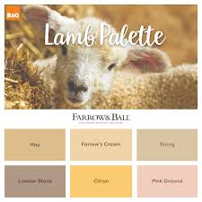 what spring colour will ewe choose farrow u0026 ball have lots of