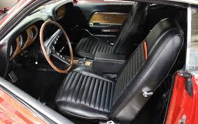 1969 Ford Mustang Interior 1969 Ford Mustang 1969 Ford Mustang Mach 1 428 Cobra Jet For