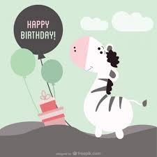 printable birthday card vector free