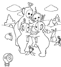 free printable teletubbies coloring pages disney and coloring