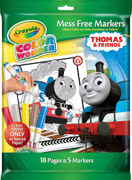 amazon com crayola thomas u0026 friends color wonder mess free
