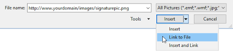 creating using and managing signatures howto outlook