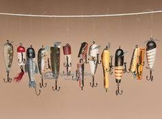 business cards with antique fishing lures search