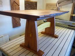 custom built dining room tables custom fine wood furniture woodlab designs