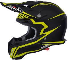 motocross helmet brands airoh terminator 2 1 lightning motocross helmet orange airoh trr