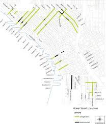 neighborhood plans 5 4 green streets seattle streets illustrated