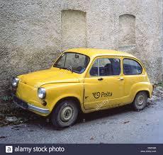 zastava old car model zastava croatia motovun stock photo royalty free